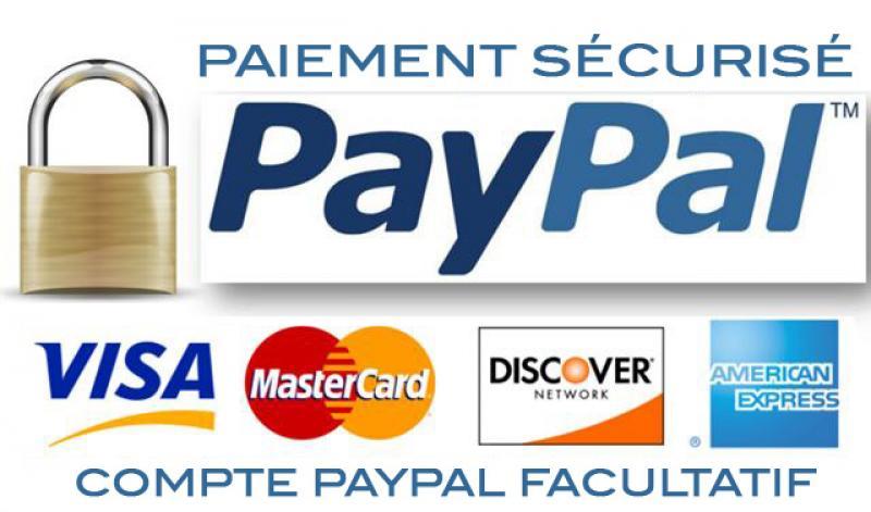 Paiement sécurisé Paypal